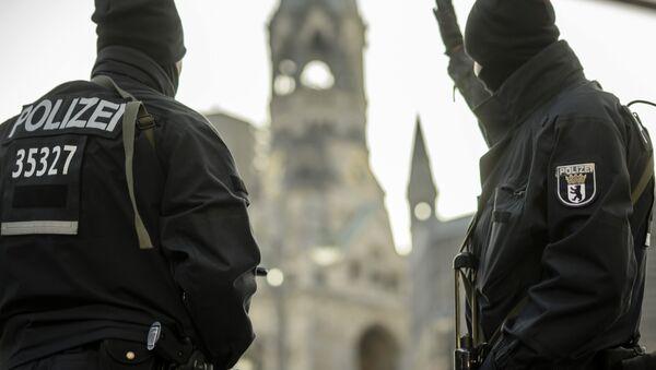 Policisté v Berlíně - Sputnik Česká republika