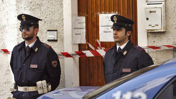 Italští policisté - Sputnik Česká republika