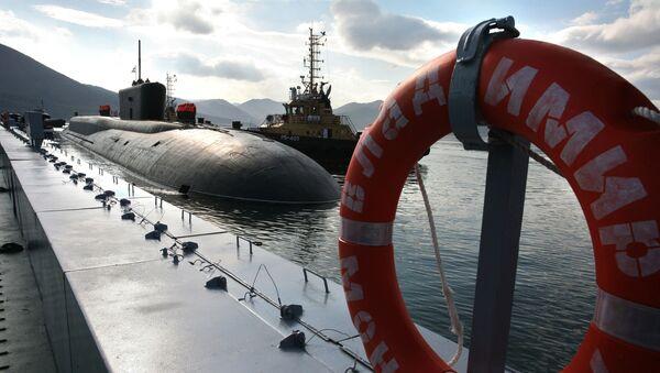 Atomová ponorka Vladimir Monomach projektu 955 - Sputnik Česká republika