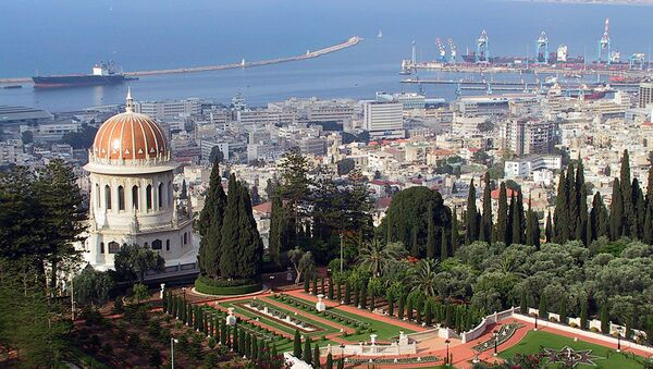 Pohled na město Haifa v Izraeli - Sputnik Česká republika