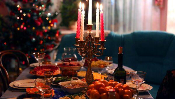 Tradiční novoroční večeře - Sputnik Česká republika