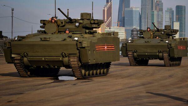 Bitevní vozidla na podvozku Kurganec - Sputnik Česká republika