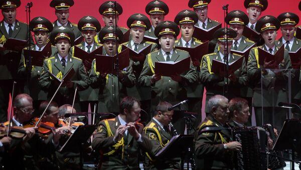 Akademický armádní Alexandrovův soubor - Sputnik Česká republika