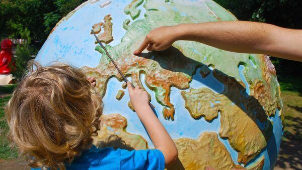 Mapa světa - Sputnik Česká republika
