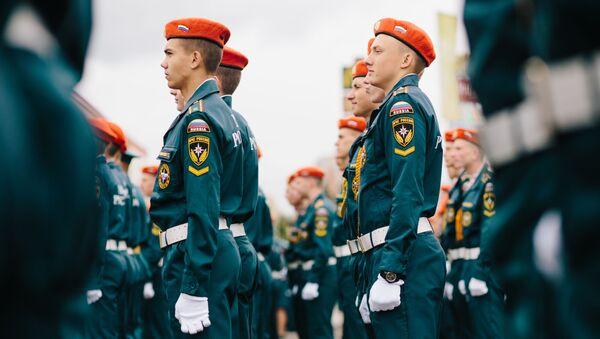 Studenti akademie Ministerstva pro mimořádné události RF - Sputnik Česká republika