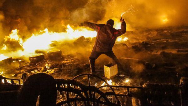 Nepokoje v Kyjevě - Sputnik Česká republika