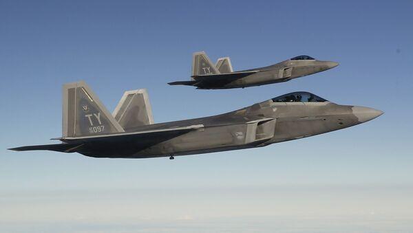 Americké stíhačky F-22 Raptor - Sputnik Česká republika