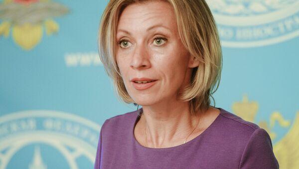 Tisková mluvčí ruského ministerstva zahraničí Maria Zacharovová - Sputnik Česká republika