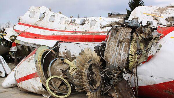 Trosky polského Tu-154 - Sputnik Česká republika