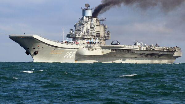 Letadlová loď Admirál Kuzněcov - Sputnik Česká republika