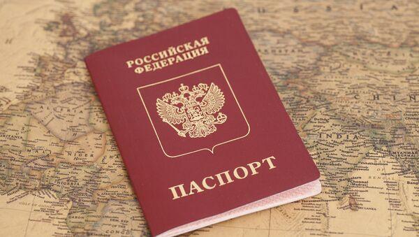Ruský pas - Sputnik Česká republika