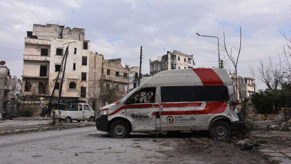 Zničené čtvrtě Aleppa - Sputnik Česká republika