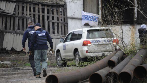 Mise OBSE v DLR - Sputnik Česká republika