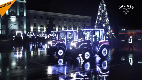 Nejen na poli: valčík traktorů - Sputnik Česká republika