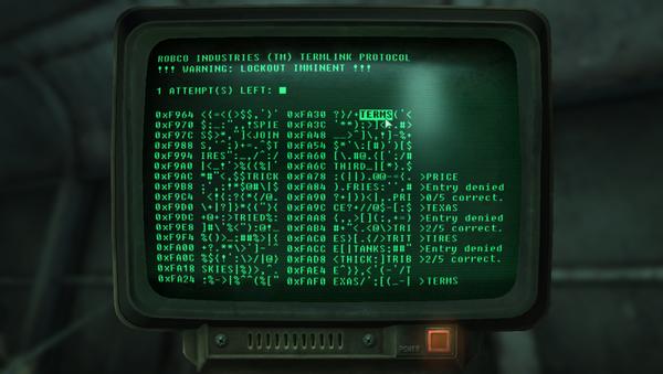 Fallout Terminal - Sputnik Česká republika