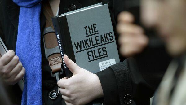 WikiLeaks. Ilustrační foto - Sputnik Česká republika