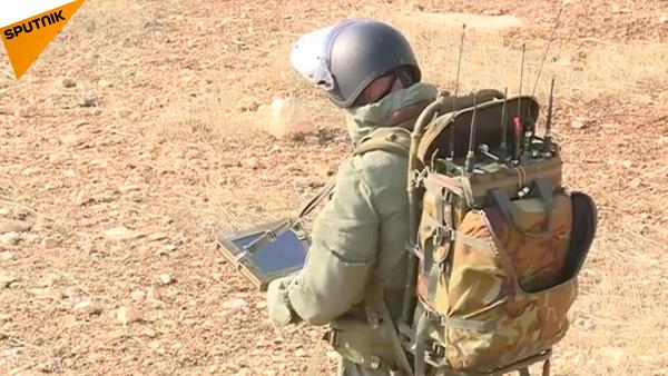 Zneškodnění min v Aleppu - Sputnik Česká republika