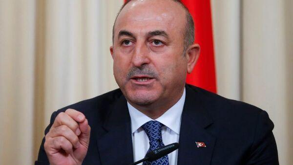 Mevlüt Çavuşoğlu. Ilustrační foto - Sputnik Česká republika