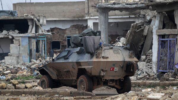 Turečtí vojáci v Sýrii - Sputnik Česká republika