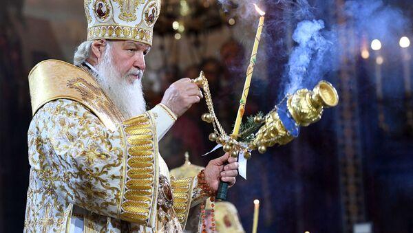 Patriarcha Kirill - Sputnik Česká republika