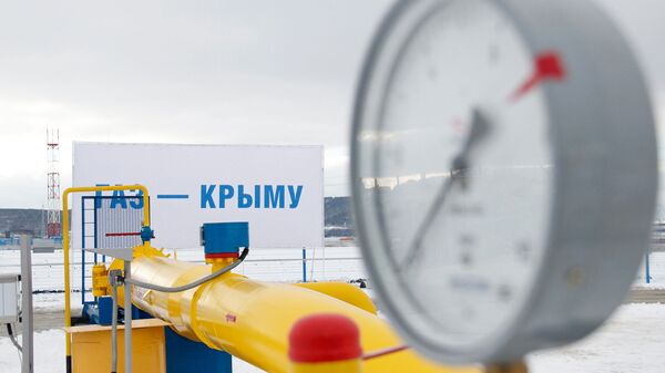 Газпровод в Крыму - Sputnik Česká republika