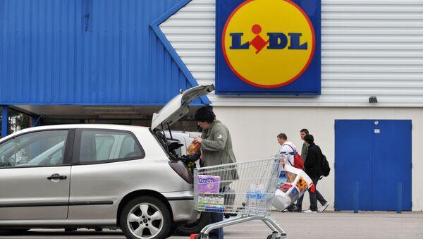 Obchod Lidl ve Francii - Sputnik Česká republika