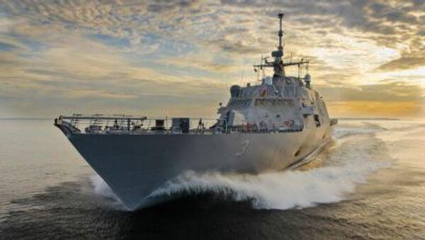 USS Fort Worth (LCS-3) - Sputnik Česká republika