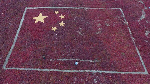 Zobrazení čínské vlajky - Sputnik Česká republika