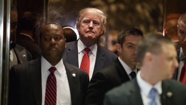 Zvolený americký prezident Donald Trump - Sputnik Česká republika