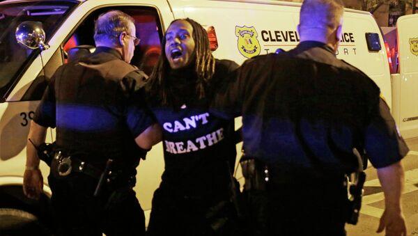 Demonstrace v Clevelandu, Ohio - Sputnik Česká republika