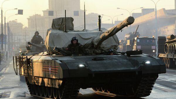 ARMATA T-14 tank - Sputnik Česká republika