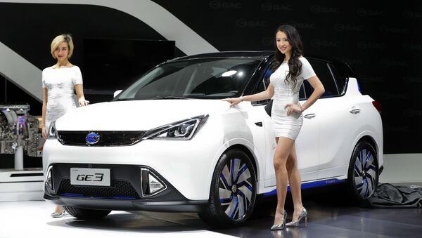 Elektromobil GAC Motors GE3. Ilustrační foto - Sputnik Česká republika