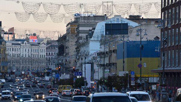 Ulice Khreshchatyk v Kyjevě - Sputnik Česká republika