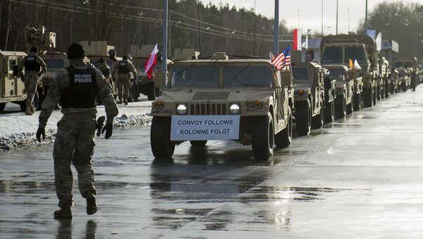 Američtí vojáci v Polsku v rámci operace Atlantická rozhodnost - Sputnik Česká republika