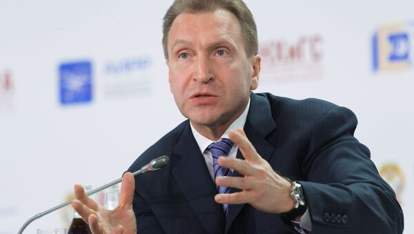 První vicepremiér ruské vlády Igor Šuvalov - Sputnik Česká republika