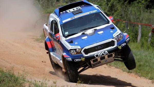Cestou necestou na rallye Dakar 2017 - Sputnik Česká republika