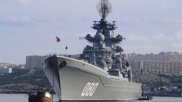 Těžký atomový raketový křižník Admirál Nachimov - Sputnik Česká republika
