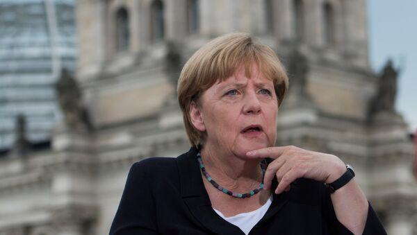 Kancléřka Německa Angela Merkelová - Sputnik Česká republika