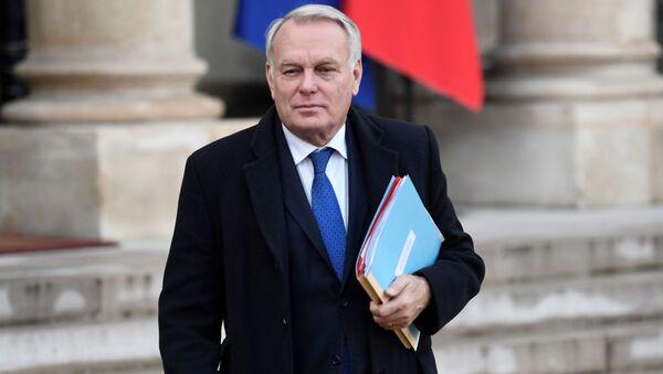 Šéf francouzské diplomacie Jean-Marc Ayrault - Sputnik Česká republika