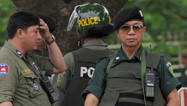 Kambodžská policie - Sputnik Česká republika