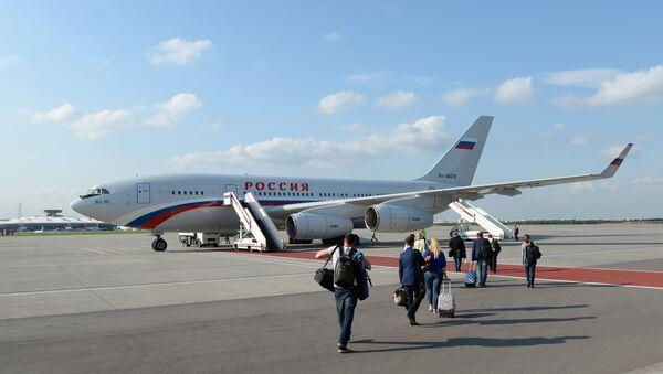 Il-96-300 ruského prezidenta - Sputnik Česká republika