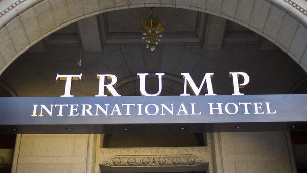 Vchod Trumpova hotelu - Sputnik Česká republika