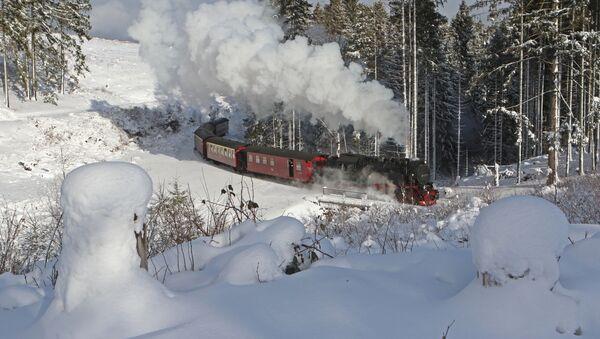 Vlak v Německu - Sputnik Česká republika
