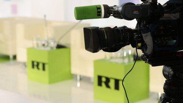 Televizní stanice RT - Sputnik Česká republika