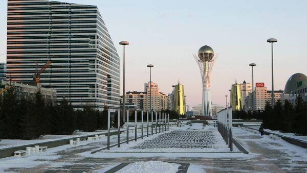 Cities of the world. Astana - Sputnik Česká republika