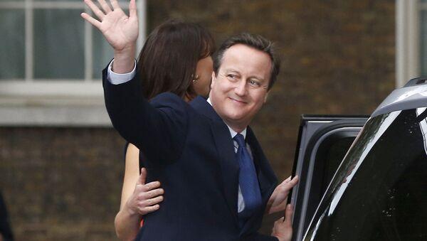 David Cameron, bývalý britský premiér - Sputnik Česká republika