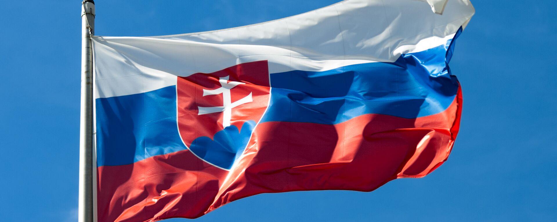 Slovenská vlajka  - Sputnik Česká republika, 1920, 23.09.2021