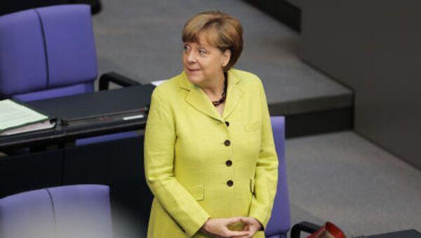 Kancléřka Spolkové republiky Německo Angela Merkelová. - Sputnik Česká republika