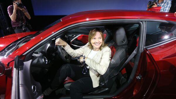 Generální ředitelka firmy General Motors Mary Barra. - Sputnik Česká republika