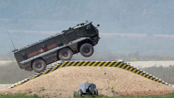 Nejnovější ruská vojenská technika - Sputnik Česká republika